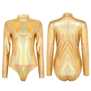 Shine - Drag Queen Shiny Leotard-Queenofdrag.com