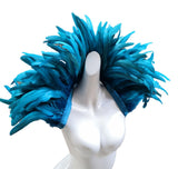Samba - Drag Queen Rooster Feather Shoulder Wrap-Queenofdrag.com