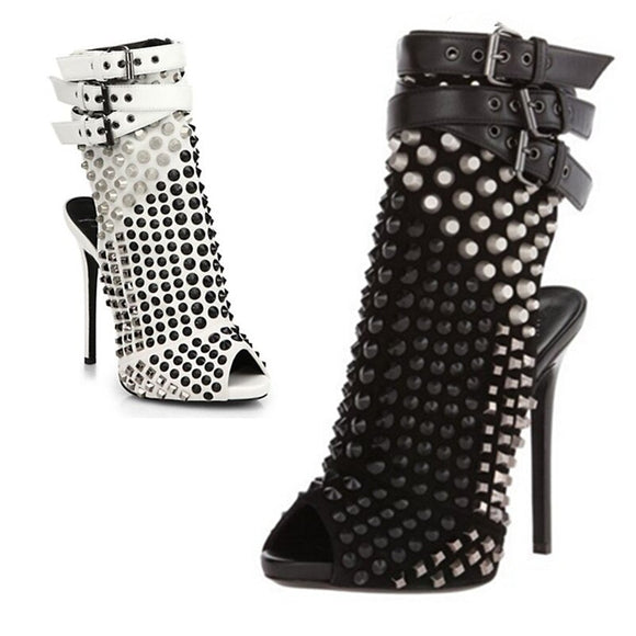 Sparta - Drag Queen Ankle Boots-Queenofdrag.com