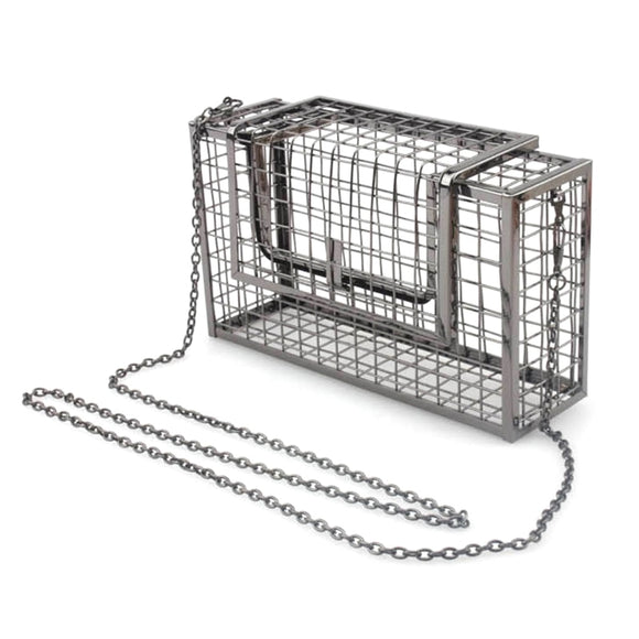 Metal Cage Drag Queen Bag-Queenofdrag.com