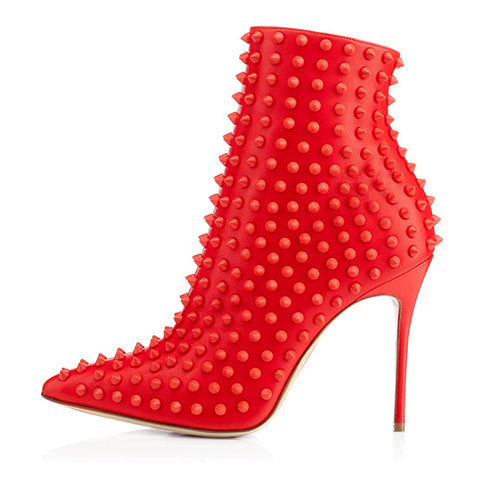 Read - Black, Red and Slanderous Drag Queen Boots - Plus Size