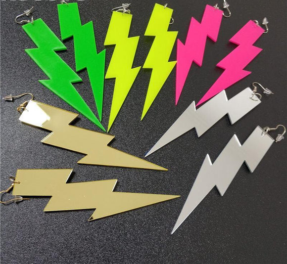 Lightening - Drag Queen Earrings-Queenofdrag.com