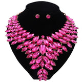 Bella - Drag Queen Crystal Jewelry Set in different colours-Queenofdrag.com