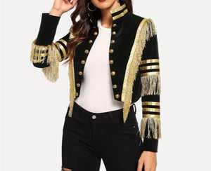 Captain - Drag Queen Fringe Jacket-Queenofdrag.com