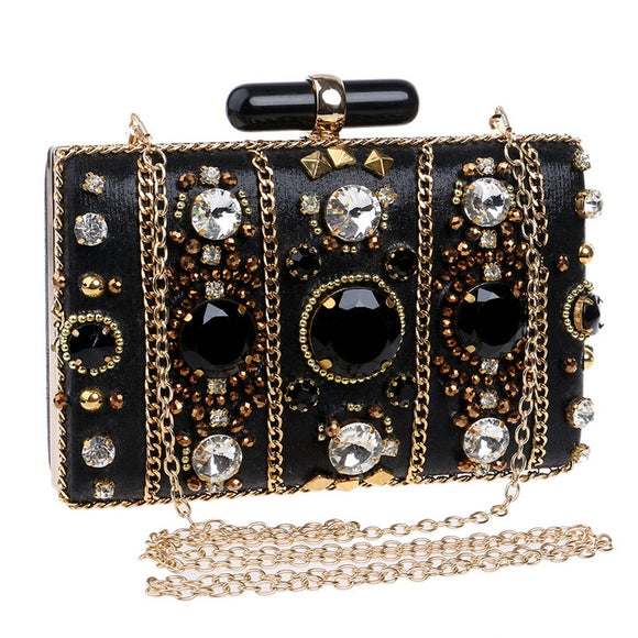 Eilzabeth - Beaded Drag Queen Clutch-Queenofdrag.com