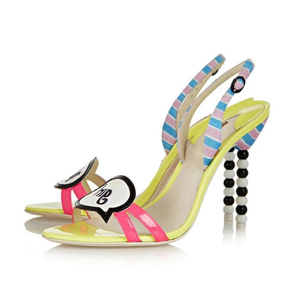 Candy Girl - Drag Queen Stiletto Sandals-Queenofdrag.com