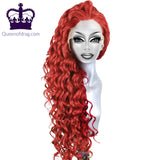"24"" Curly Drag Queen Lace Front Wig in different colours-Queenofdrag.com"