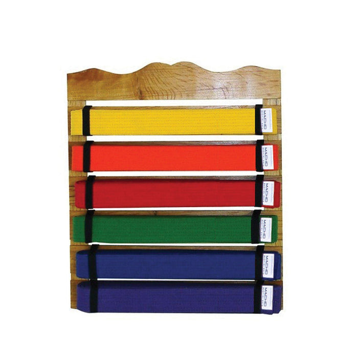 Accessories - Six Level Martial Arts Belt Display