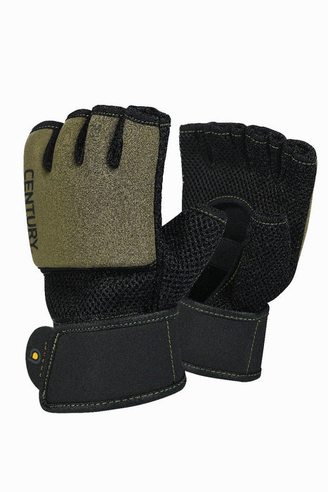 Boxing/MMA Gloves - Century® Brave™ Men's Gel Glove (Black/Olive)