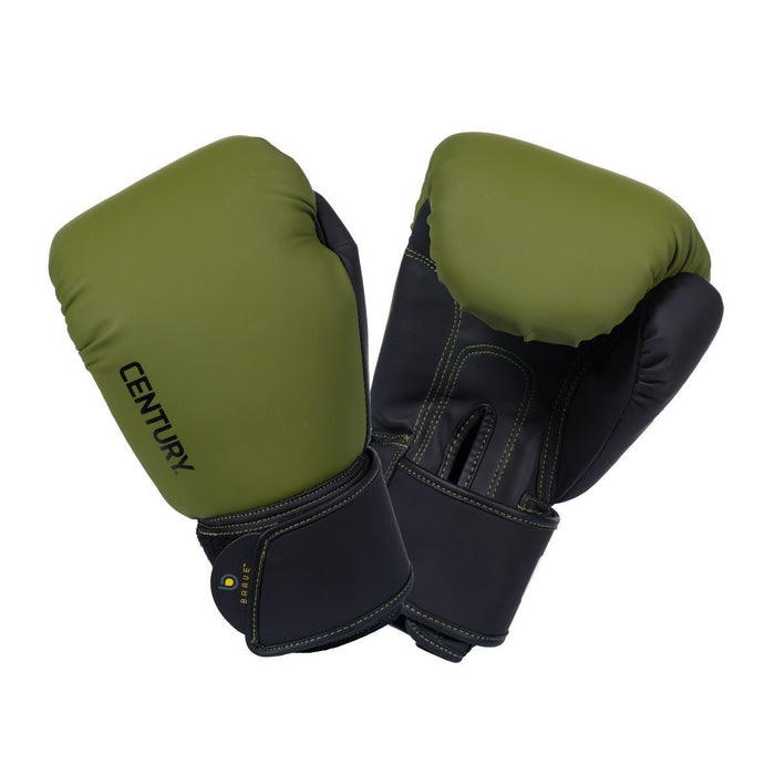 Boxing/MMA Gloves - Century® Brave™ Muay Thai Boxing Glove 12oz (Olive/Black)
