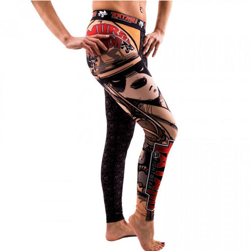 Compression Wear - Ladies Samurai Panda Spats