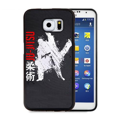 Martial Arts Cell Phone Cases For Samsung Galaxy S5 S6 S7 edge plus S8 S9 plus Note 4 5 8 Jiu Jitsu