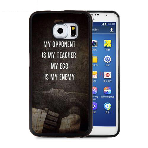 Martial Arts Cell Phone Cases for Samsung Galaxy S5 S6 S7 edge plus S8 S9 plus Note 4 5 8 Ego