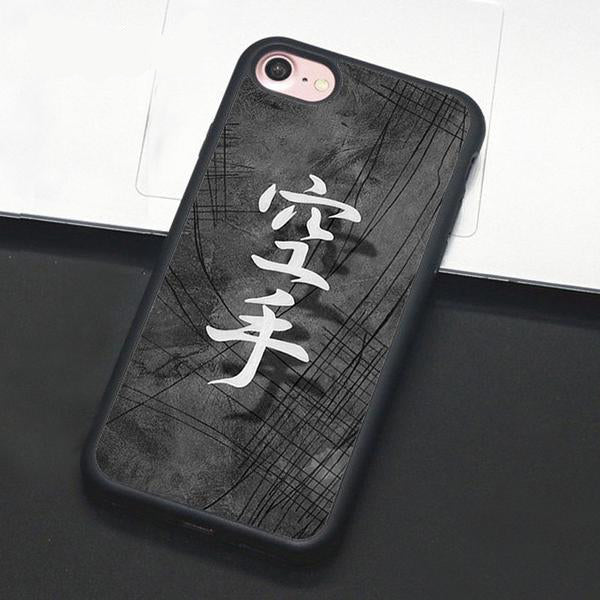 Martial Arts Cell Phone Cases For Apple iPhone X 8 7 6S 6 Plus 5 5S SE Rubber Back Cover Shell