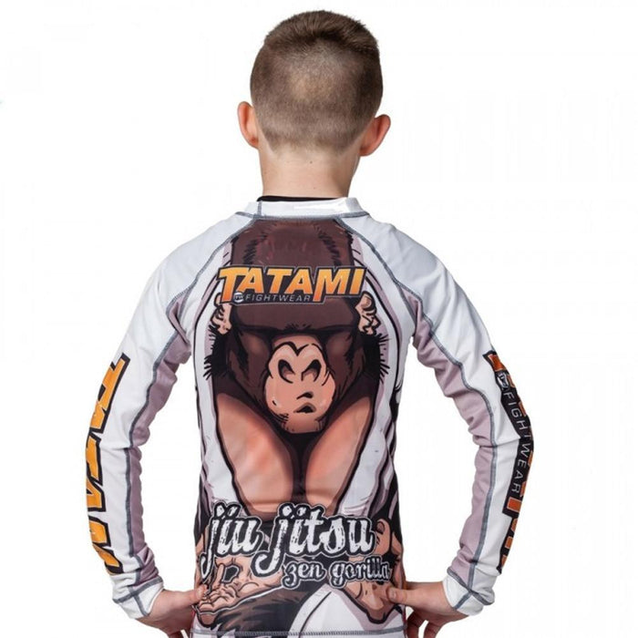 Rash Guard - Kids Zen Gorilla Rashguard