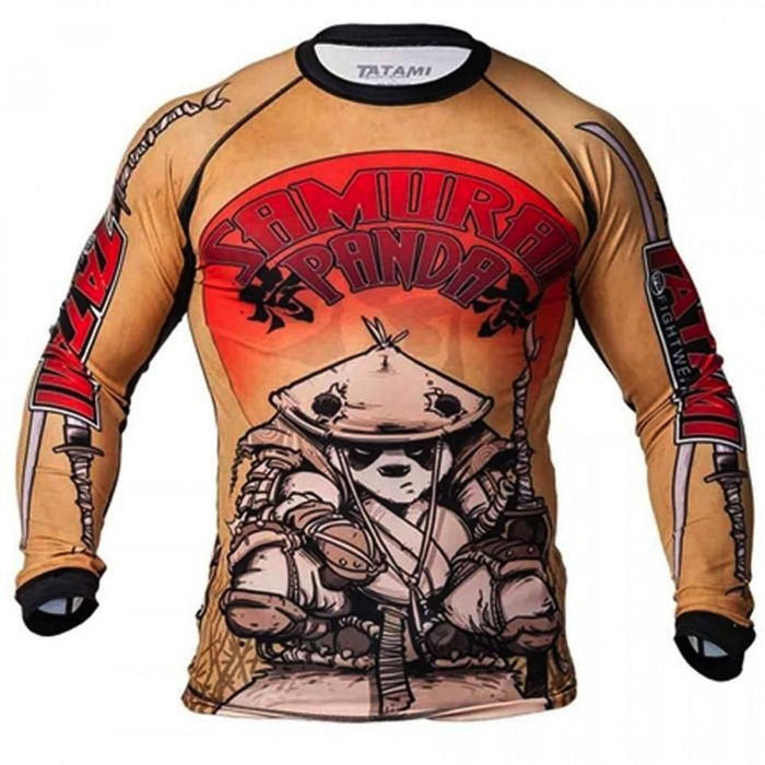 Rash Guard - Samurai Panda Rash Guard