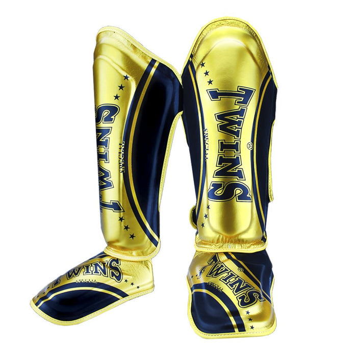 Sparring Gear - Leather Fancy Shin And Instep