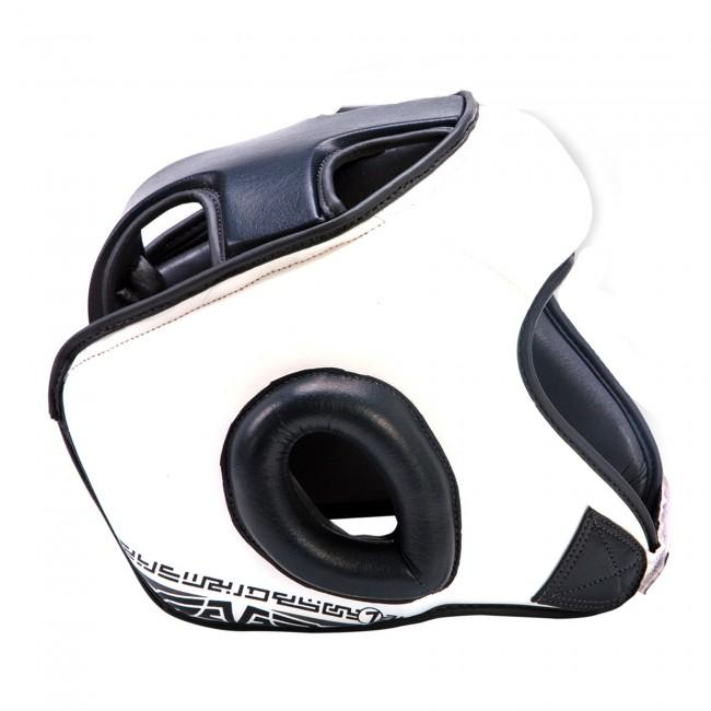 Sparring - Seven Open Face Head Gear White