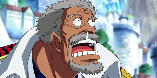 Garp. Strongest One Piece Characters in rank #9