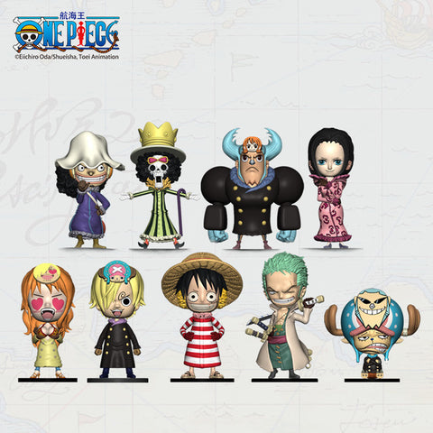 One Piece Figure Strawhat Crew Punk Hazard Arc Mini