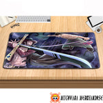 One Piece Mouse Pad Zoro Vs Mihawk