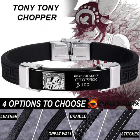 One Piece Bracelet Wanted Chopper