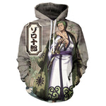 One Piece Jacket Wano Arc Zoro