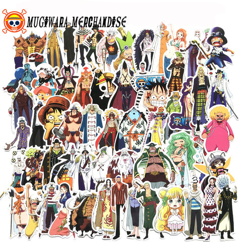135 Pcs of One Piece Sticker