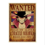 One Piece All Wanted Kraft Paper Poster