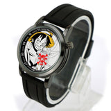 Cool Luffy Rubber Strap Analog Watch