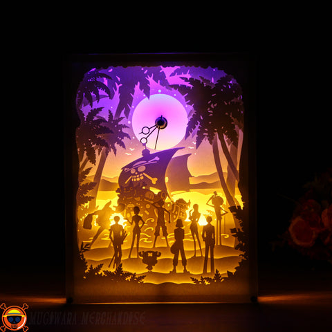 Cool One Piece LED Clock