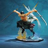 Cool One Piece Zoro Action Figure Battle Mode
