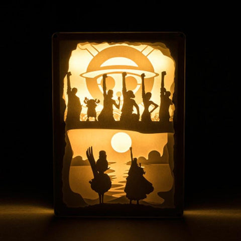 One Piece Alabasta Arc Ending LED Lights