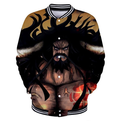One Piece Button Long Sleeve Kaido