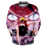 One Piece Button Long Sleeve Luffy Second Gear