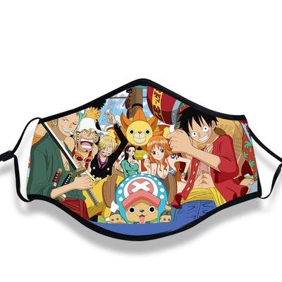 One Piece Anime Face Mask All Strawhat Crew