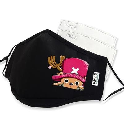 One Piece Anime Face Mask Cute Tony Chopper