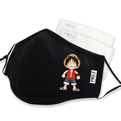 One Piece Anime Face Mask Luffy Small