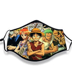 One Piece Face Mask Strawhat Old Crew
