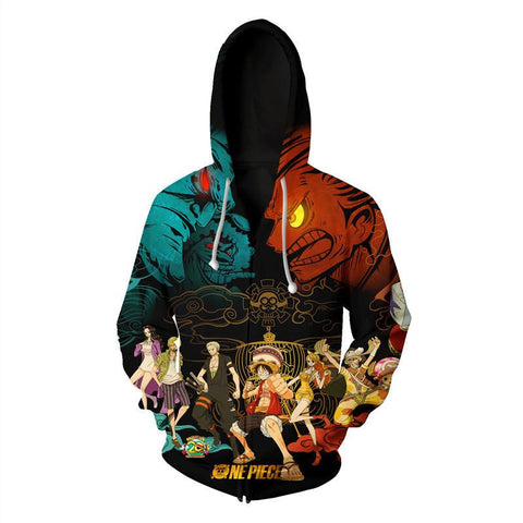 One Piece Anime Jacket Stampede