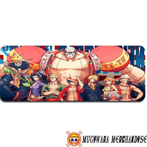 One Piece Mouse Pad Strawhat Crew Fanart