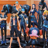 Straw Hat Crew Film Gold Action Figure (Full Set)