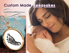Custom Made Jewelry Keepsakes, The Jewellers Shop Bath Ohio