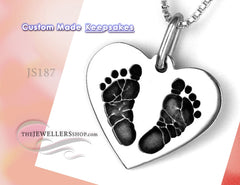 Custom Made Jewelry Keepsakes