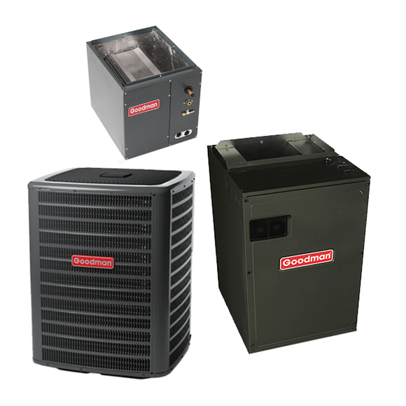 3 Ton 16 Seer Goodman Heat Pump System