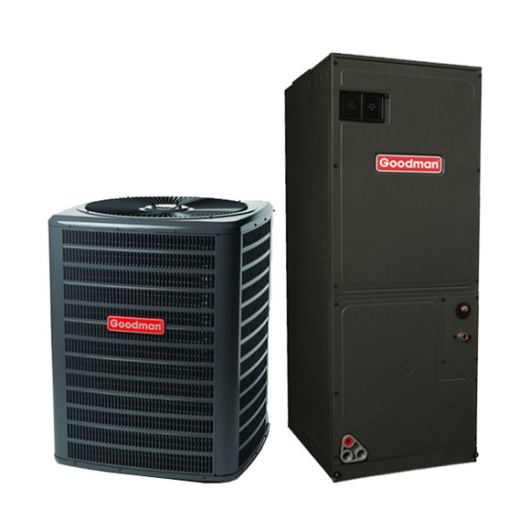 3 Ton 15 Seer Goodman Heat Pump System