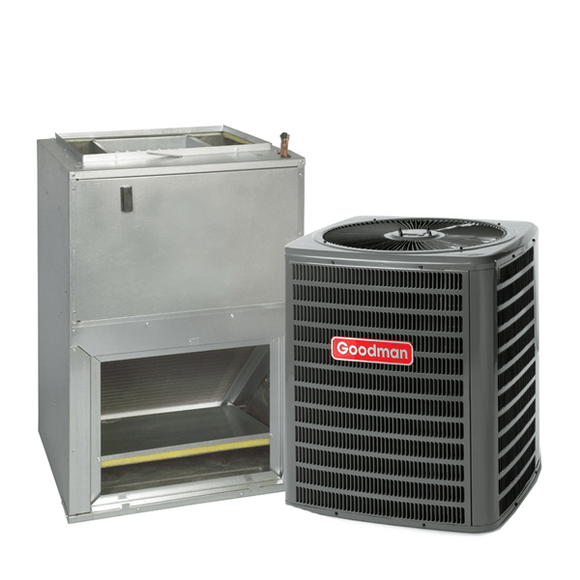 2.5 Ton 14 Seer Goodman Heat Pump System