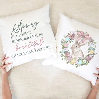 Spring Is A Lovely Reminder - Pillow