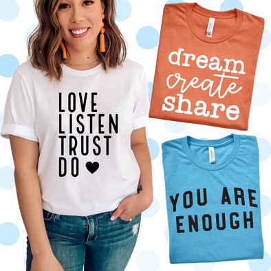 You Are Enough Set - Tee
