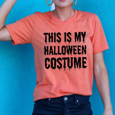 This Is My Halloween Custom - Tee